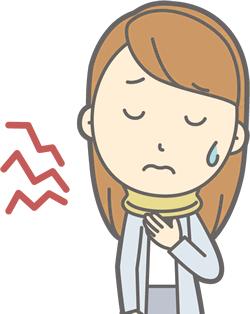 福岡市東区で交通事故むち打ちの女性