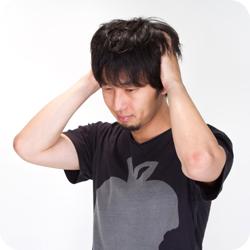 男性に多い頭痛